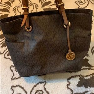 Brown Michael Kors purse